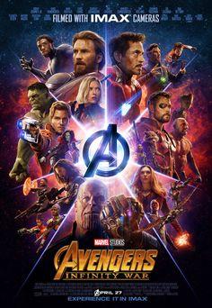 Pôster das salas IMAX de Vingadores: Guerra Infinita reúne super-heróis - Minha Série