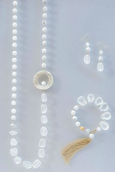HASUNA necklace earring bracelet