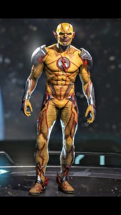 Flash Cosplay, Eobard Thawne, Reverse Flash, Univers Dc, Superhero Design, Dc Characters, Super Hero Costumes, Detective Comics, Marvel Dc Comics