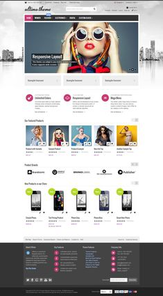 20+ Best eCommerce WordPress Themes of 2014 #web #design #eshop #modern