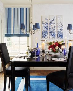 Smart and traditional, our Eaton Stripe makes beautiful and timeless curtains and blinds. This linen mix fabric is available in royal blue and is dry clean only. Living Room Paint, New Living Room, Living Room Furniture, Blue And White China, Blue China, Curtain Fabric, Curtains, Laura Ashley, Living Room Inspiration