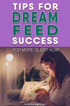 The Dream Feed: An insanely simple solution to dramatically more sleep Need more sleep? The dream feed can delay your babys' first night waking = more sleep for you! The what, how-to STEP-BY-STEP and when-to-stop Baby Sleep Through Night, Sleeping Through The Night, Sleeping Patterns For Babies, Dream Feed, Rem Sleep, Fantastic Baby, Pregnancy Tips, Baby Feeding, Bebe