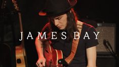 """James Bay performs a beautiful live session of his new song 'Let It Go' for the first time ever on video. His debut album """"Chaos And The Calm"""" featuring this. Music X, Music Lyrics, Music Quotes, Music Is Life, Good Music, Music Guitar, Soul Singers, Bruce Springsteen, Debut Album"""