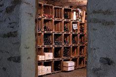 Der Weinkeller Wine Rooms, Wine Cellars, Wine Rack, Spaces, Home Decor, Restore, Bottle Rack, Decoration Home, Room Decor
