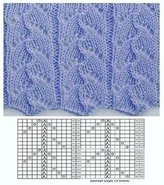 p/lyudmila-miroshnichenko-beitrage-strickmuster - The world's most private search engine Lace Knitting Stitches, Lace Knitting Patterns, Knitting Charts, Free Knitting, Knitting Socks, Baby Knitting, Stitch Patterns, Box Patterns, How To Start Knitting