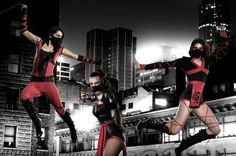 Seje ninja kostumer  #ninja#costume#temashop#eventyr