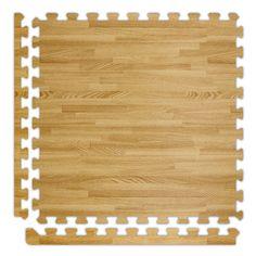 Groovy Mats Dark Oak 24 In X 24 In Comfortable Wood