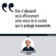 Citation de la semaine ! À lire sur Sciences Humaines notre article «Karl Polanyi : remettre l'économie à sa place» : non.li/K9cg