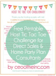 Blog post at CEO of Me | Misty Kearns : If you are a direct sales or home party plan consultant, you know that parties are the lifeblood of your business. One of the most important[..]