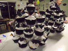 Mel's Silhouette Cupcakes