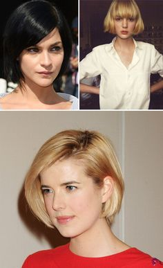 You got: a short bob. You're a hard worker with big ambitions, which is why you need a low-maintenance cut that can look polished with minimal effort. Never mind fussy hairstyles and blow-drying — just a tuck behind the ear is all you need to look your best.