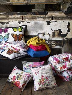 Vintage Curiosity Cushions, curiosity vintage bedding #BHS #BHSCuriosity