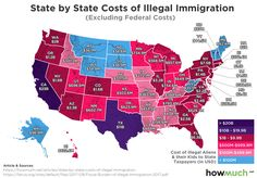 NEW MAP: The Cost of Illegal Immigration, By State