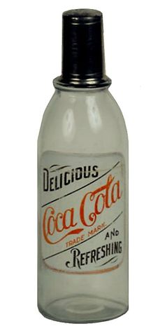 Coca Cola Back Bar - Large ACL Label. One of the two rarest styles to find. Coca Cola Life, World Of Coca Cola, Coca Cola Bottles, Pepsi Cola, Coca Cola Decor, Vintage Coke, Soft Drink, Deep Meaning, Soda Fountain