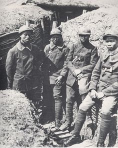 Tonkinese soldiers in the French army in World War I.
