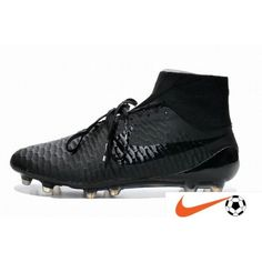 san francisco 2f4d7 2a13d Another Style Nike Magista Obra FG All Svart Fotbollsskor