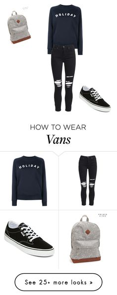 """""""Untitled #1"""" by zoeylee13 on Polyvore featuring Holiday, Vans, AMIRI and Aéropostale"""