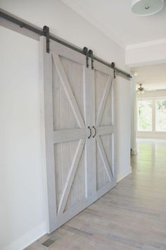 Enhance Your Home Interior With Barn Doors House, Internal Sliding Doors, Wood Doors, Barn Door Handles, Interior Design Courses, Doors Interior, House Interior, Wood Doors Interior, Barn Doors Sliding