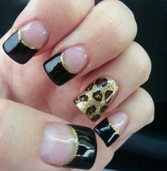 simple elegant nail art design