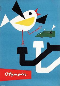 poster by Max Velthuys (1957)