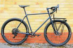 Introducing the British-built steel frame hand-made bike for life: The Clandestine Carrier - Bikerumor Bicycle Rack, Commuter Bike, Touring Bike, Bicycle Maintenance, Bike Frame, Bike Life, Steel Frame, British, Bike Stuff