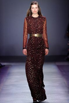 Giambattista Valli Fall 2012 Ready-to-Wear Fashion Show - Caroline Brasch Nielsen (Elite)