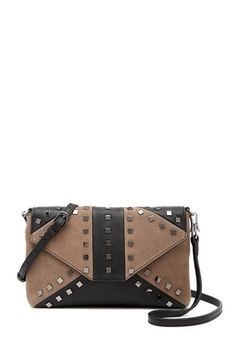 Levi Leather   Suede Studded Crossbody Bag by Sorial on  nordstrom rack Nordstrom  Rack ed7815cbaf9be