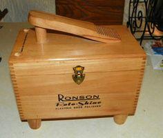Ronson Shoe Shine Box with Electric Polisher  (HD54) - $179.00