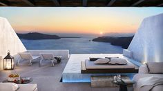 ★ Cavo Tagoo Santorini ★  Don't miss the chance to visit the Cavo Tagoo Santorini suites and marvel the unique views to the Caldera, the Aegean Sea and the amazing sunset!