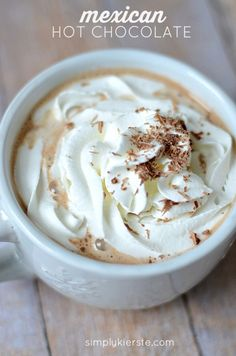 Mexican Hot Chocolate | simplykierste.com