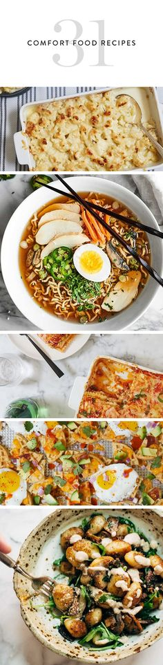 It's the perfect time to indulge in all of your favorite comfort foods, from baked ziti to slow-cooker ramen. Here's what to make for dinner this month.