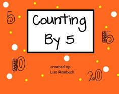 Smart board lesson that contains many activities to practice counting by 5.  (.notebook file)