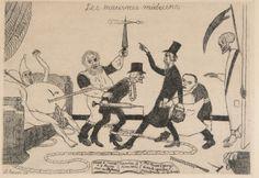 James Ensor (1860-1949) - Les mauvais médecins, 1895