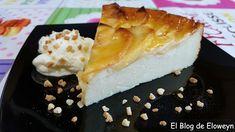 El Blog de Eloweyn: Tarta flan de manzana