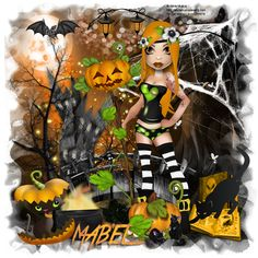 """Mabel'Tags Creations: CT Alicia Mujica Special Edition """"Halloweenn Speci..."""