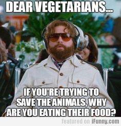 Dear Vegetarians...