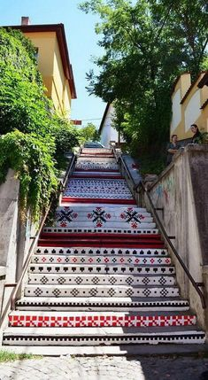 Escaleras- Targu Mures. Rumania Stair Art, Ukraine, Macedonia, Wonderful Places, Beautiful Places, Transylvania Romania, Staircases, Visit Romania, Moldova