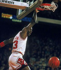 The GOAT Michael Air Jordan effortlessly smashes in two points in Chicago.