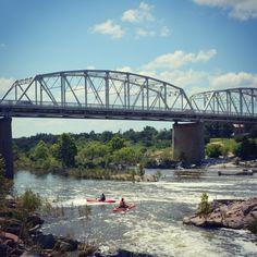 Llano River Bridge in Llano, TX