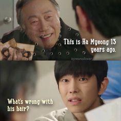 Korean drama Pinocchio. Lee Jong Suk and Park Shin Hye ...