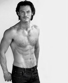 Luke Evans ... it should be illegal to be this yummy