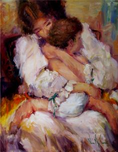 A mother's arms, whispered soothing words and kisses, both of you profit and share the memory.