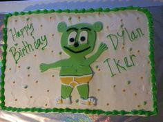 Fun Gummibär Sheet Cake for Birthday Boy, Dylan!