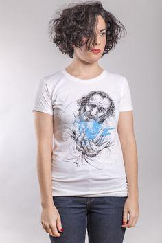 Bukowski T-Shirt Woman White