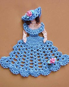 BC007 - Dainty Little Doilies Pattern Download - Manda Doily
