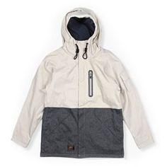 누드본즈 / NUDE BONES > 아웃도어/마운틴자켓 / Mountain & outdoor jacket > [NUDE BONES] Mountain parka ivory and gray