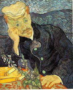 Vincent van Gogh- Portrait of Dr. Gachet, 1890