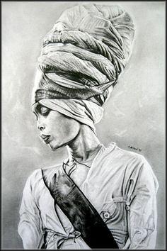 Erykah Badu - by crunchwing