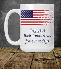 522a36c3b American Flag Coffee Mug, Distressed American Flag, Veteran Coffee Mug,  Patriotic Coffee Mug, Flag Gift, American Flag Cup, Military Service