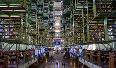 José Vasconcelos Library, Mexico City, Mexico.